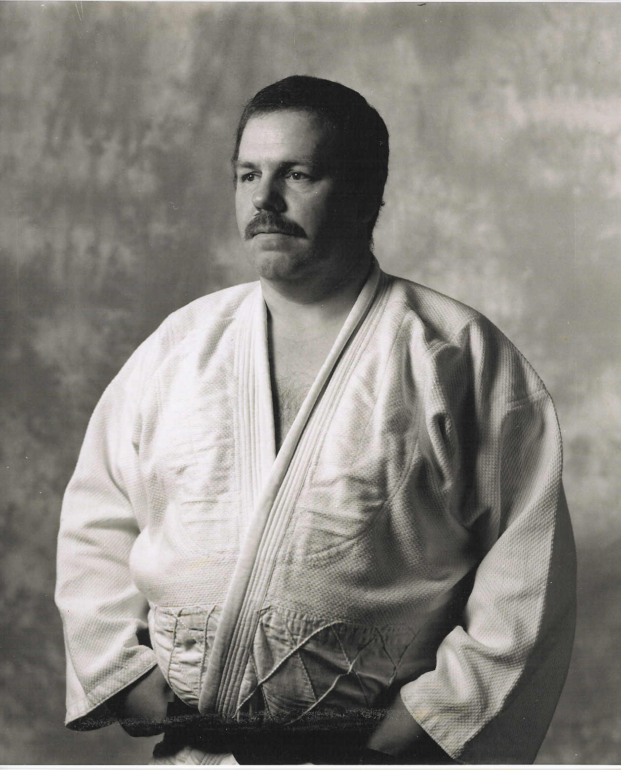 David Price in his Judo suit